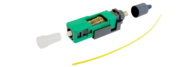 New SC/APC Field Assembly Optical Connector