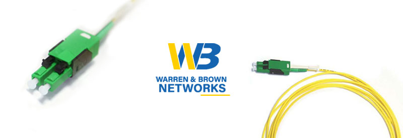 How to use Low Profile LC, LC/A Duplex Patch Cords from Warren & Brown